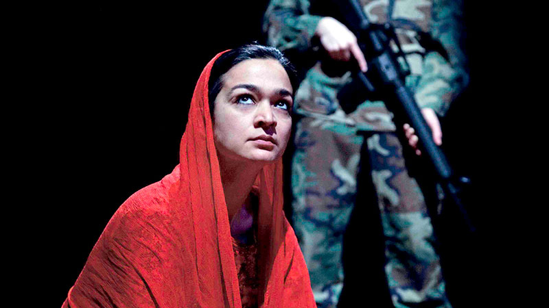 The Road to Paradise tells a story of love and loss in a time of war through three characters: a child suicide bomber in Pakistan, a Canadian soldier in Kandahar, and an Afghan immigrant in Toronto. Based on interviews conducted with families of the Canadian Armed Forces and families of the Pakistan and Afghan Army, this gripping play explores how the war in Afghanistan has affected the lives of women and children. For mature audiences. - See more at: https://www.agakhanmuseum.org/performing-arts/event/spotlight-afghanistan-road-paradise#sthash.AeP8tJdT.dpuf