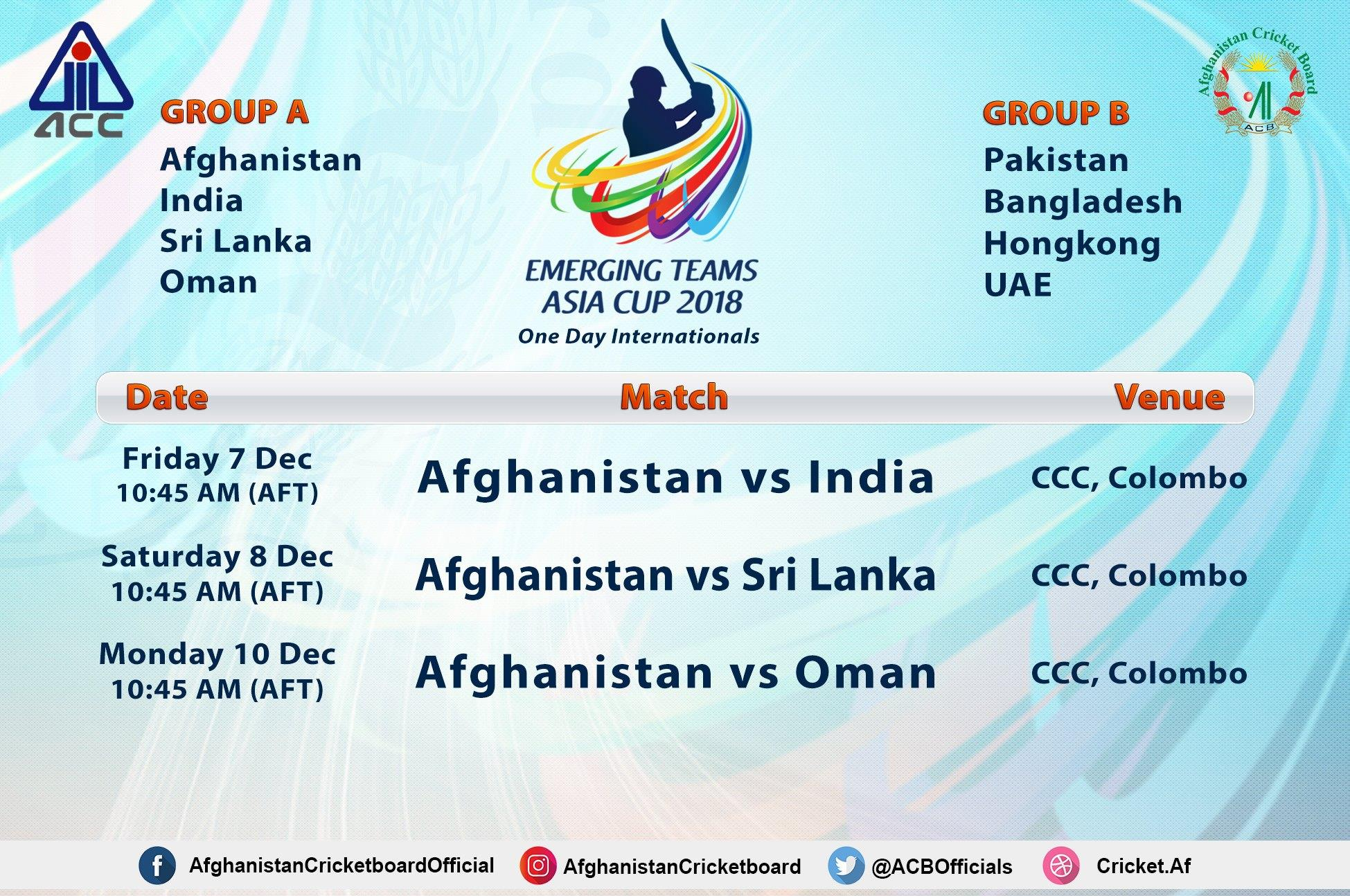 asia cup 2019 date